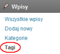 Indeksowanie strony tagu