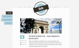 Szablon na bloga Tote