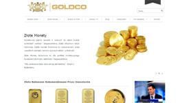 Budowa sklepu goldco.pl