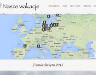 Budowa bloga podróżniczego takar.pl